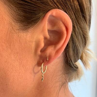 Minna Small Ring Flash Earring