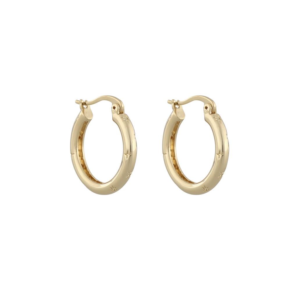 Feliz Big Ring Earring