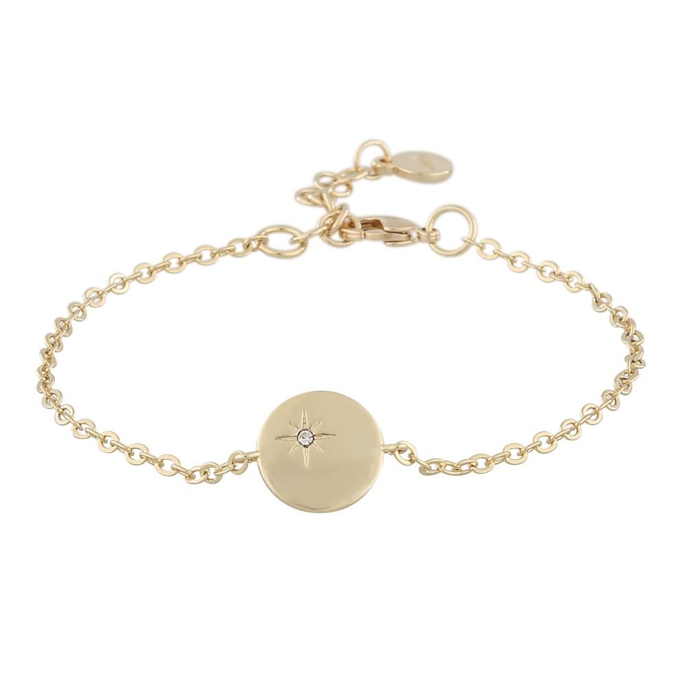 Feliz Chain Coin Bracelet