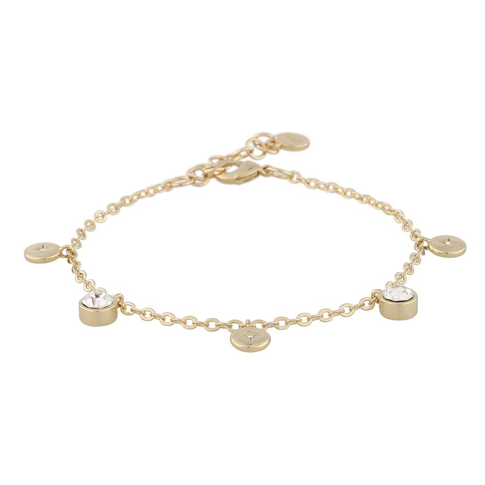 Feliz Charm Coin Bracelet