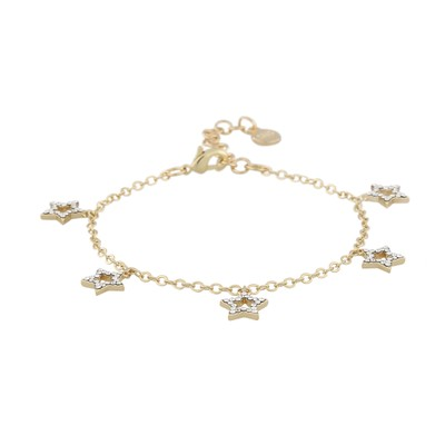 Feliz Charm Frame Bracelet