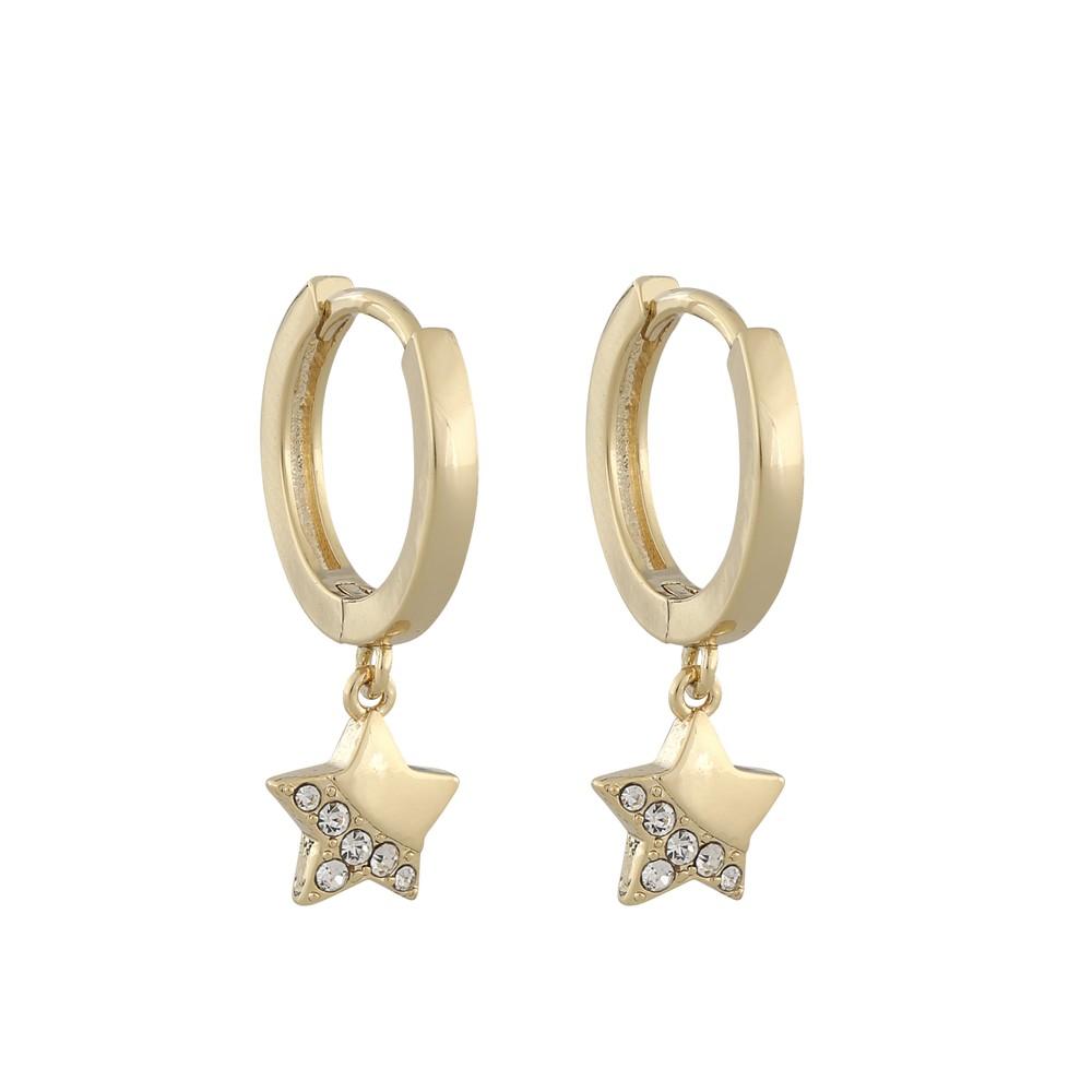 Feliz Ring Bling Earring