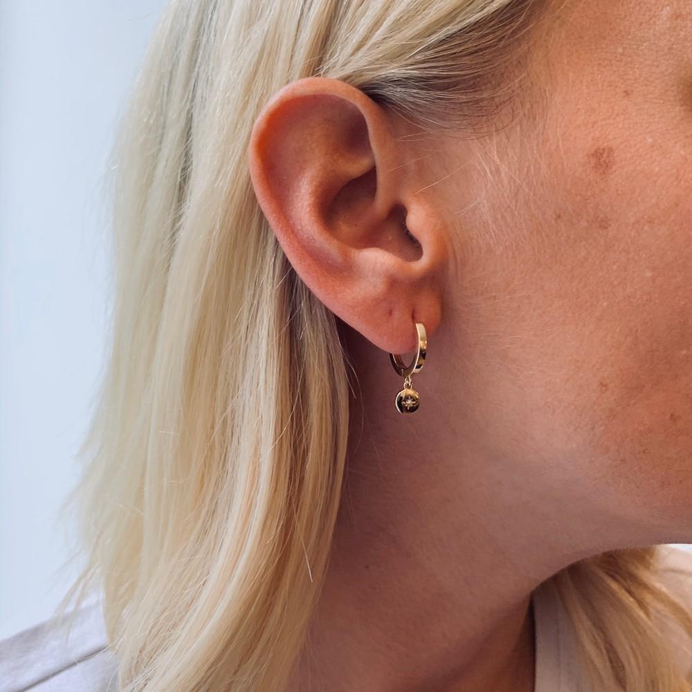 Feliz Ring Coin Earring