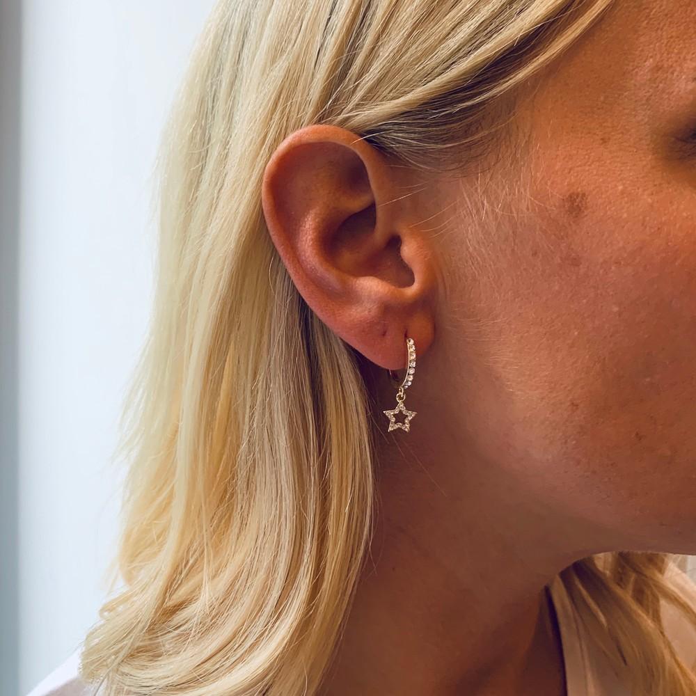 Feliz Ring Frame Earring
