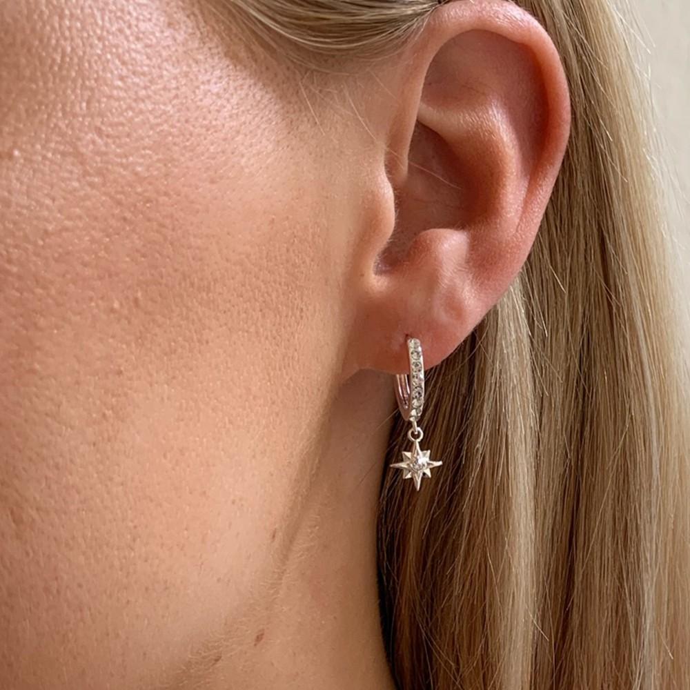 Feliz Ring Stone Earring