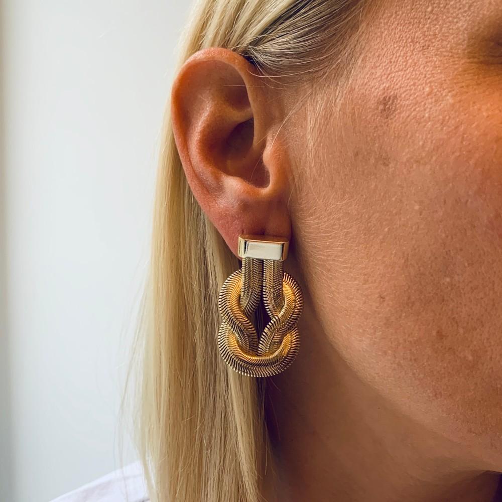 Knot Big Earring