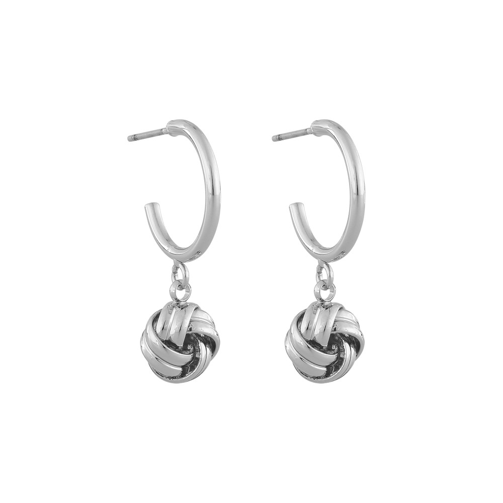 Knot Ring Earring