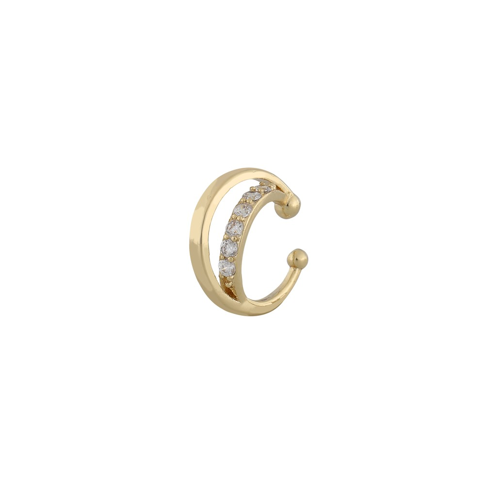 Lurie Oval Cuff Earring