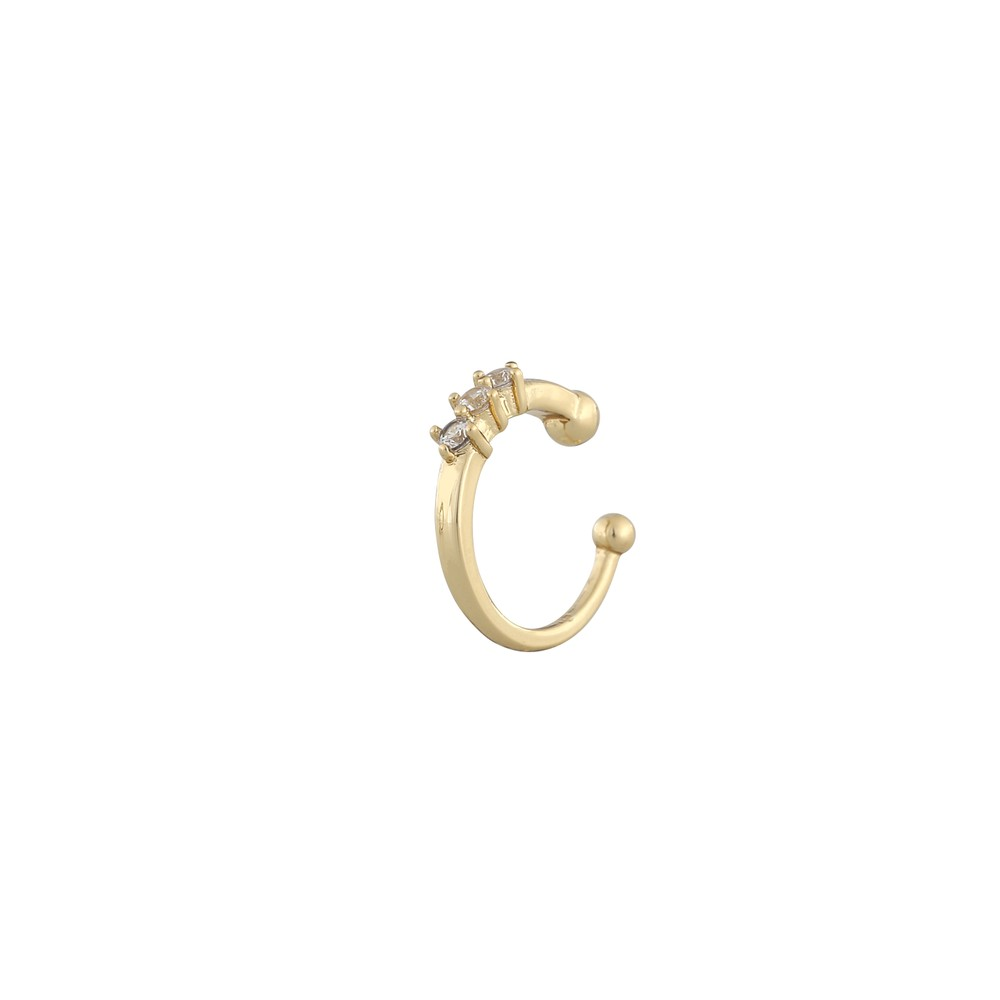 Lurie Small Stone Cuff Earring