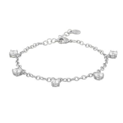 Lurie Stone Charm Bracelet