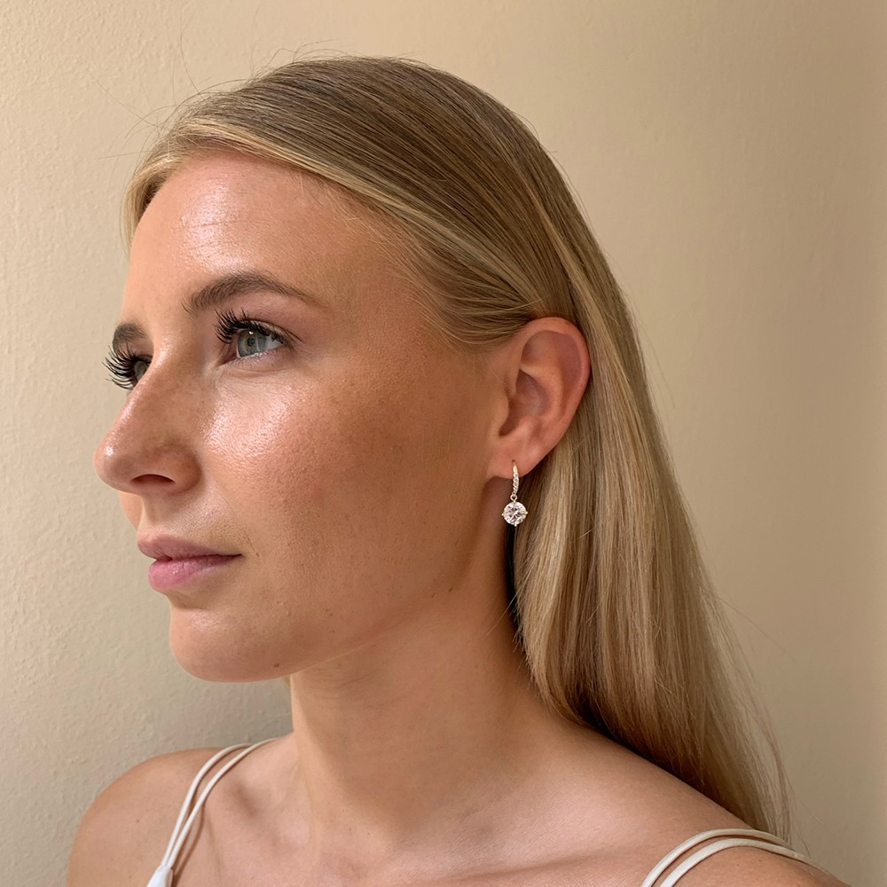 Lurie Stone Pendant Earring