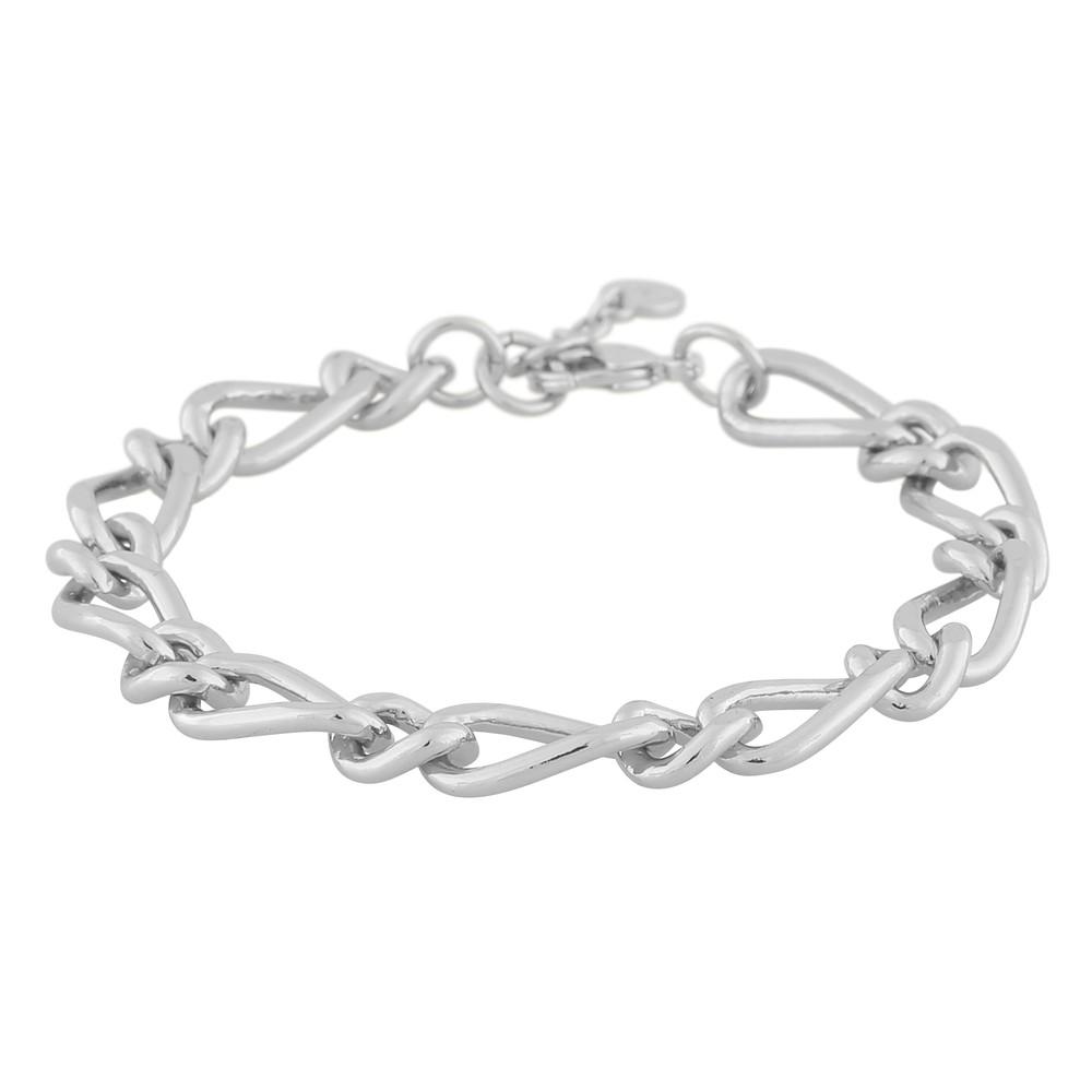 Anchor Linked Chain Bracelet