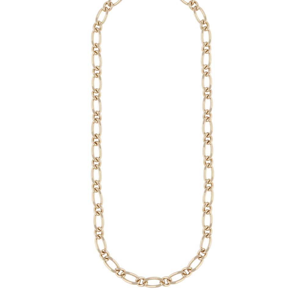 Anchor Linked Chain Necklace