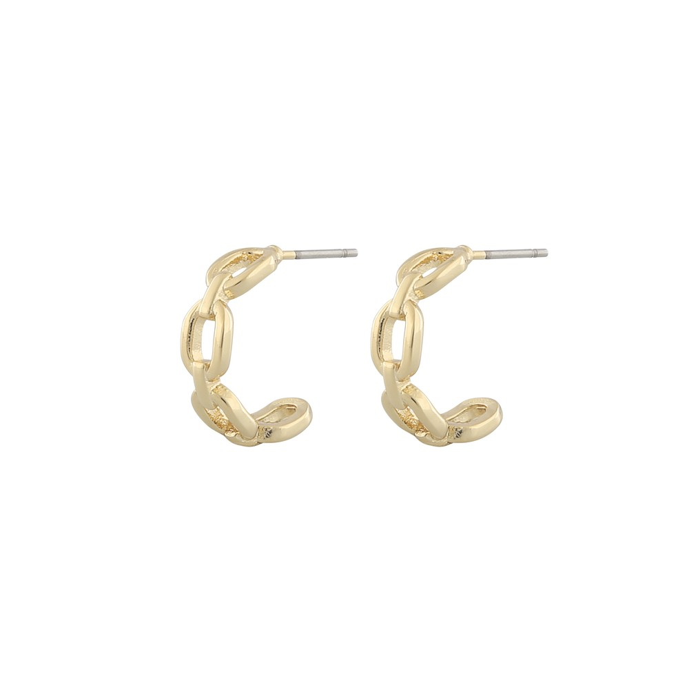 Anchor Ring Earring