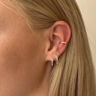 Anchor Small Cuff Earring