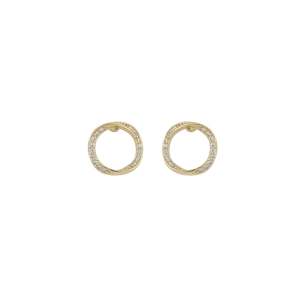 Bessie Small Round Earring
