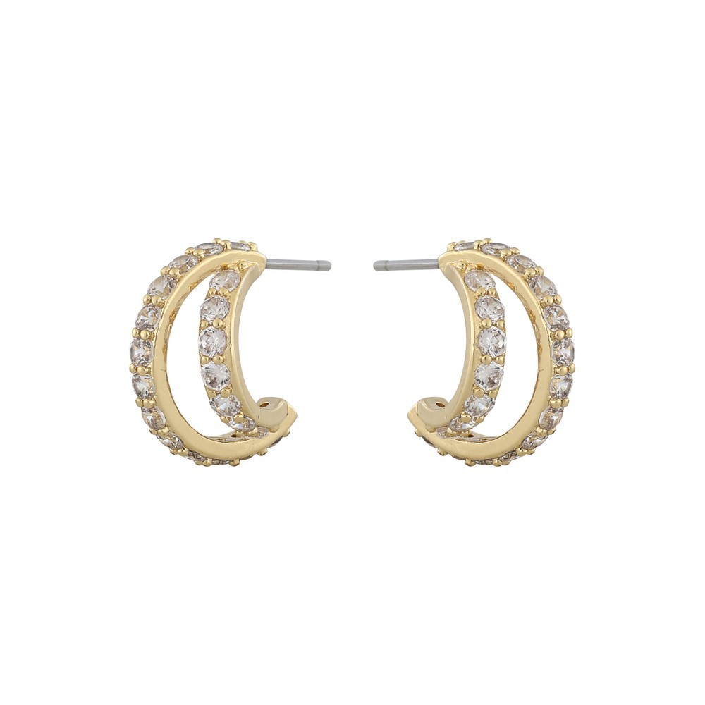 Camille Big Oval Earring
