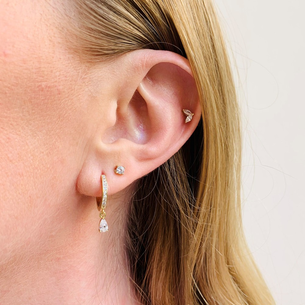 Camille Drop Ring Earring