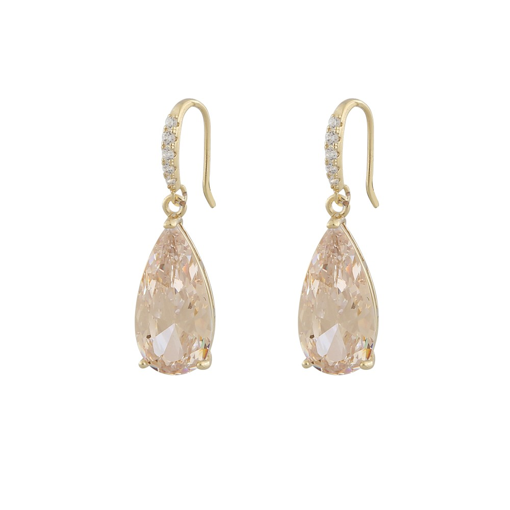 Camille Long Pendant Earring