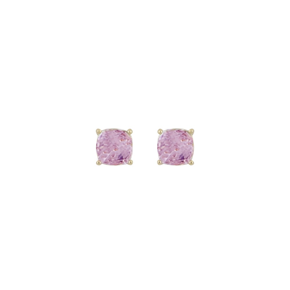 Camille Square Stone Earring