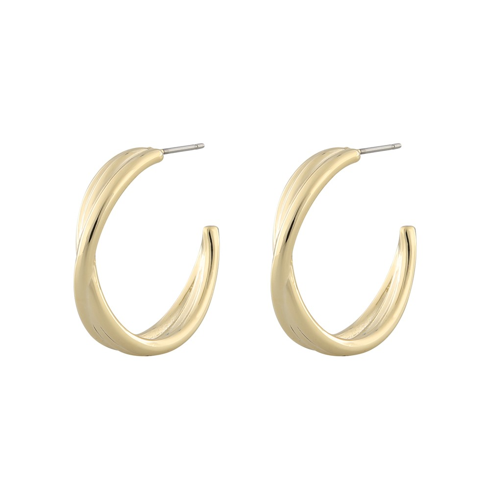 Elma Big Oval Earring
