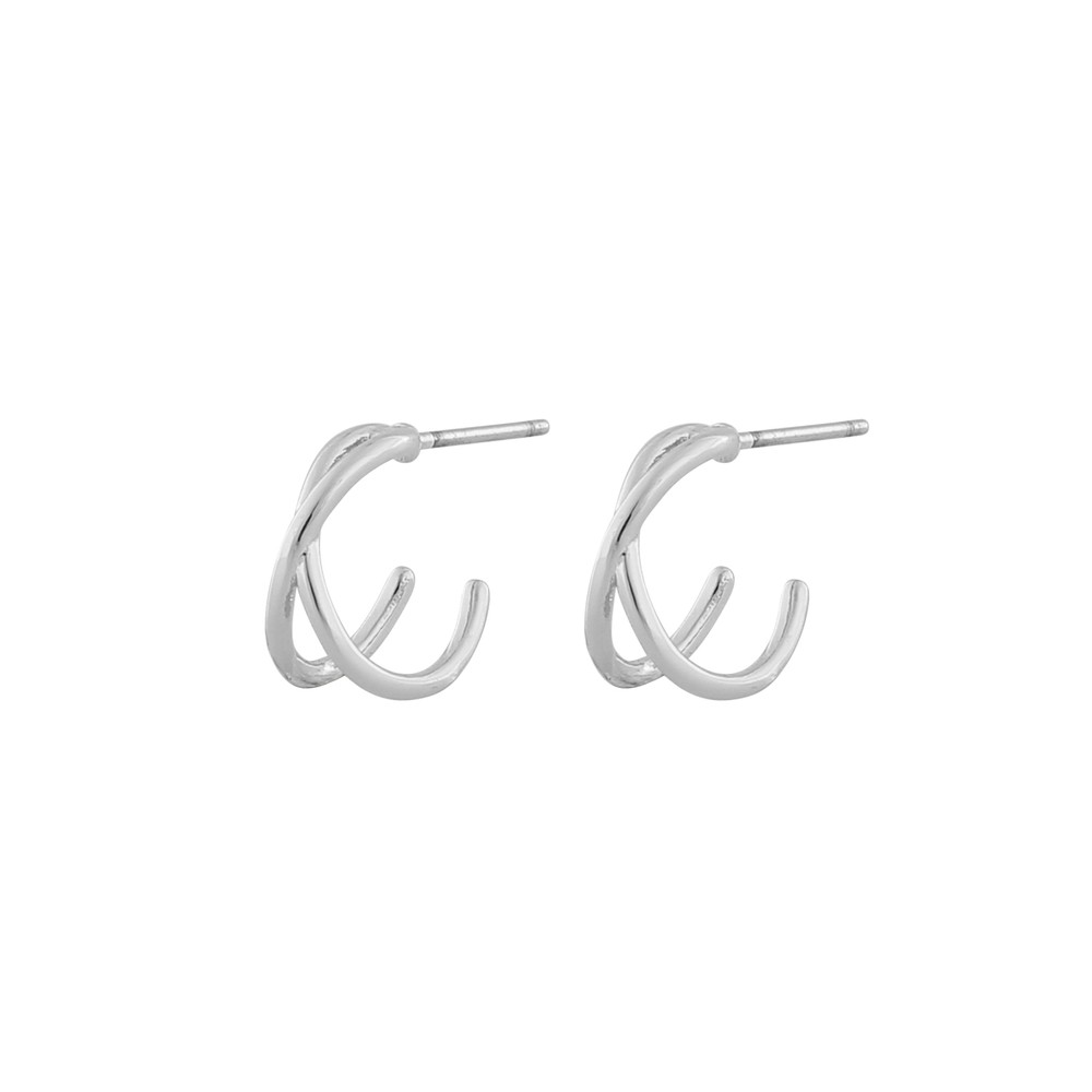 Elma Small Oval Earring