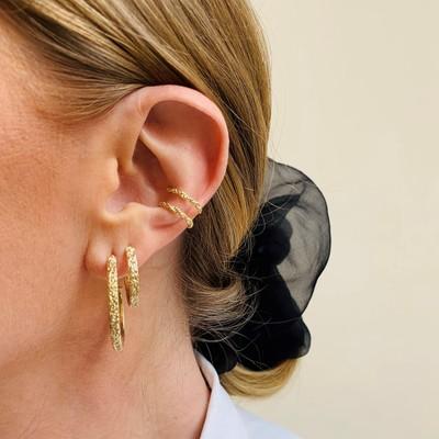 Marion Big Cuff Earring