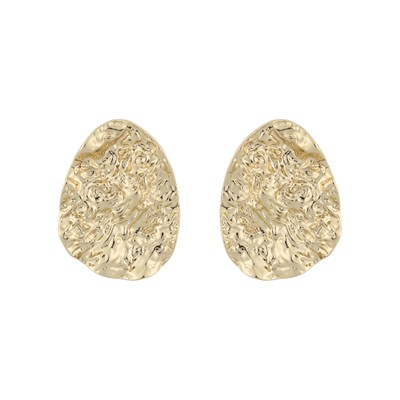 Rue Big Coin Earring