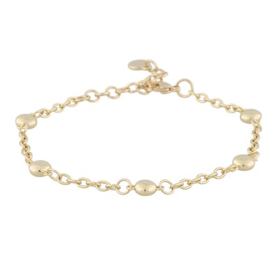 Point Big Chain Bracelet
