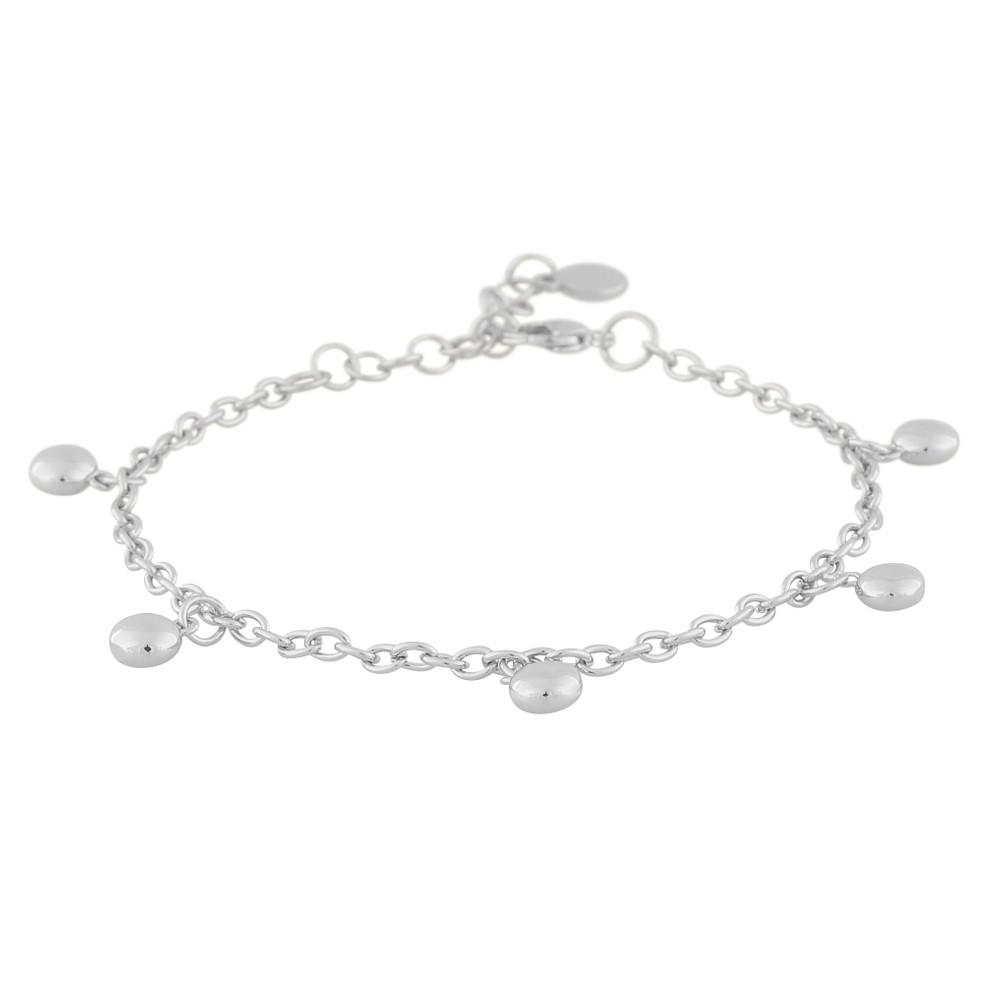 Point Big Charm Bracelet