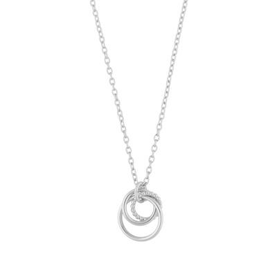 Point Globe Pendant Necklace