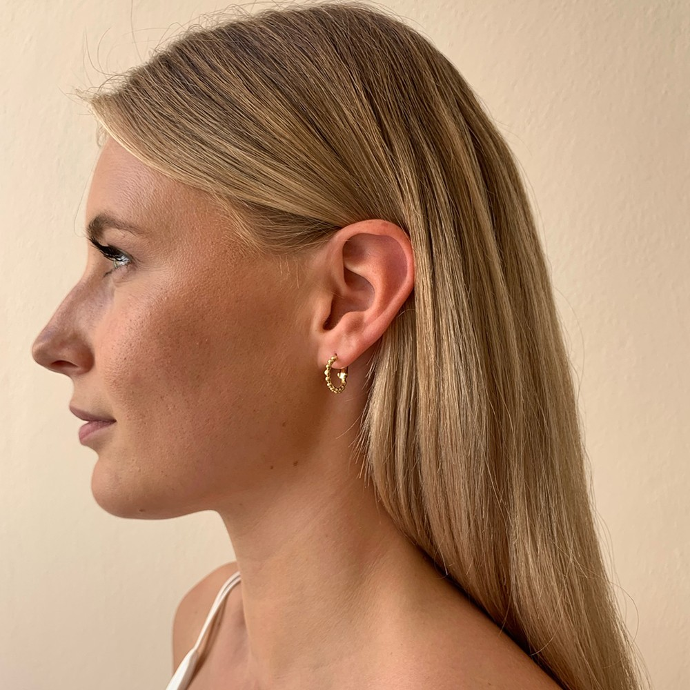 Point Small Ring Earring