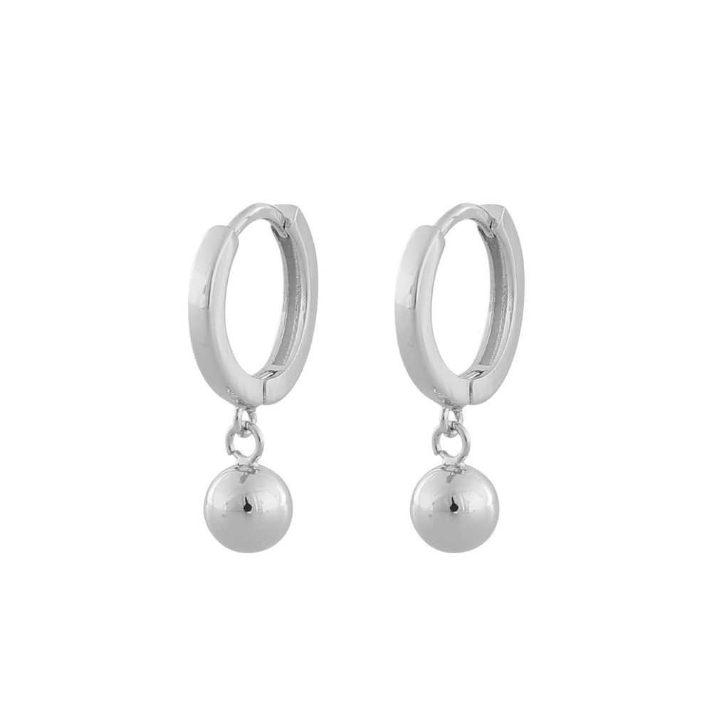 Point Small Ring Pendant Earring