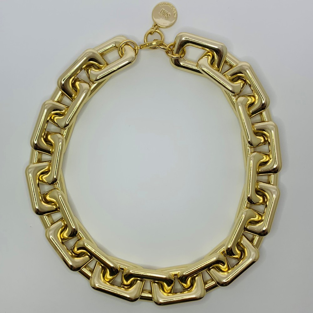 Amber Big Chain Necklace