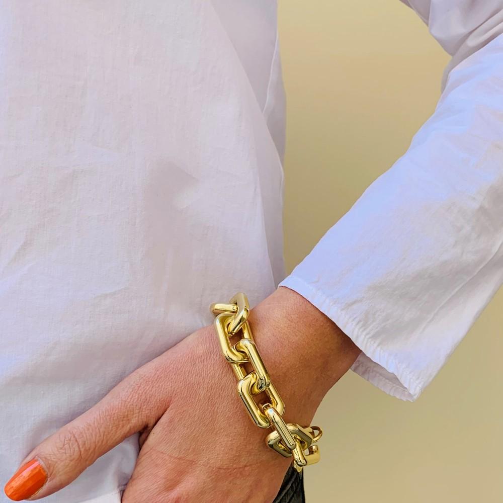 Amber Chain Bracelet