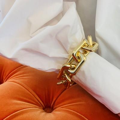 Amber Big Chain Bracelet