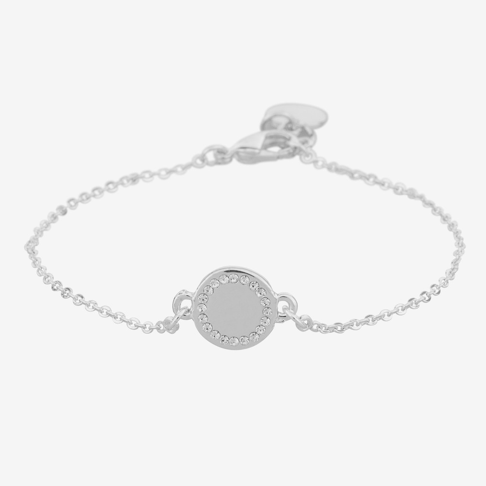 Love Small Chain Bracelet Stone