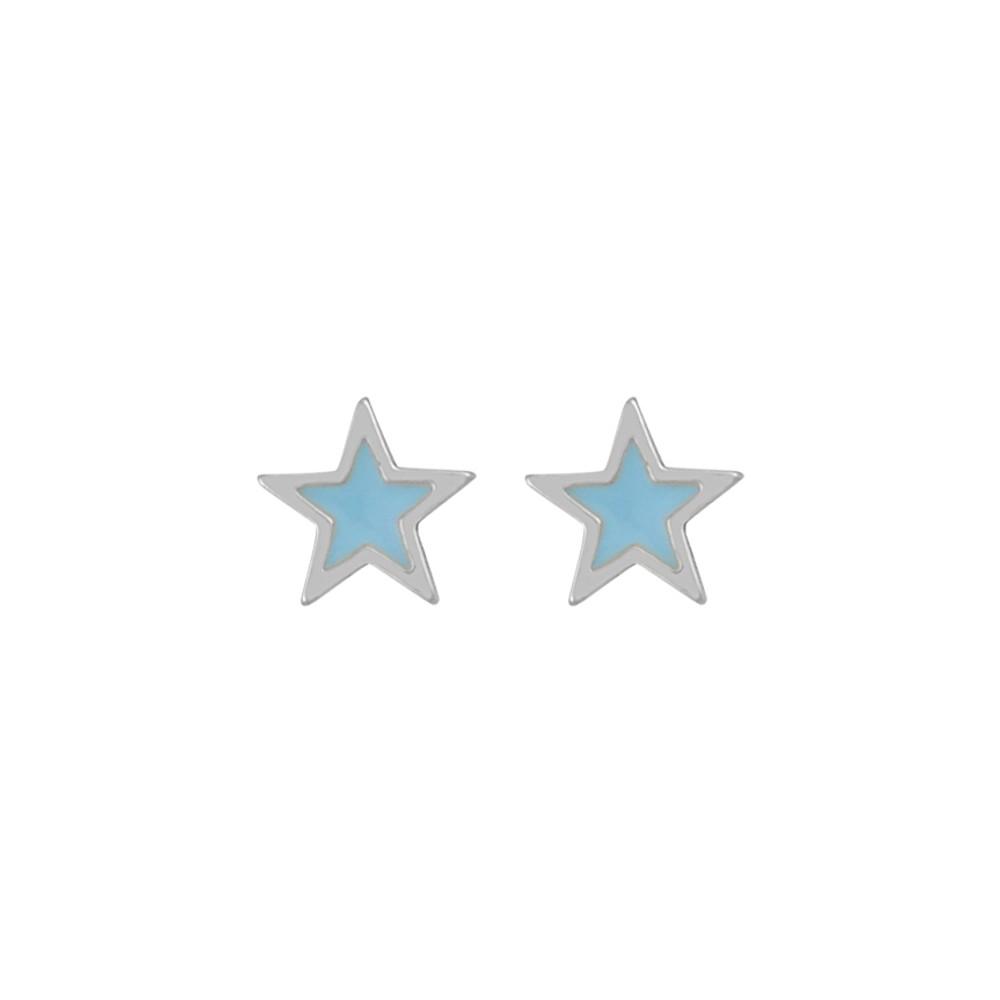 Blossom Small Star Earring