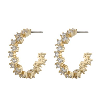Clementine Round Earring