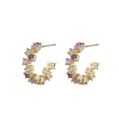 Clementine Small Round Earring