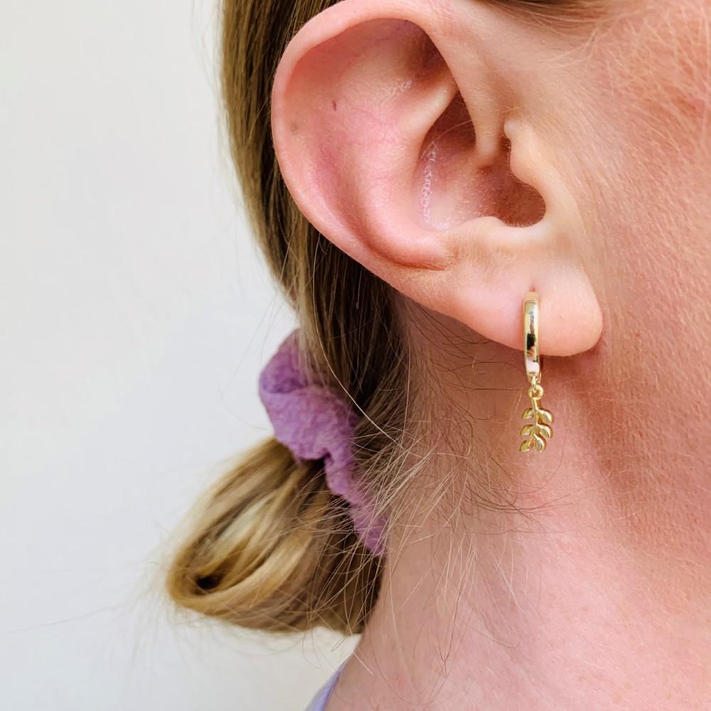 Fling Branch Ring Earring
