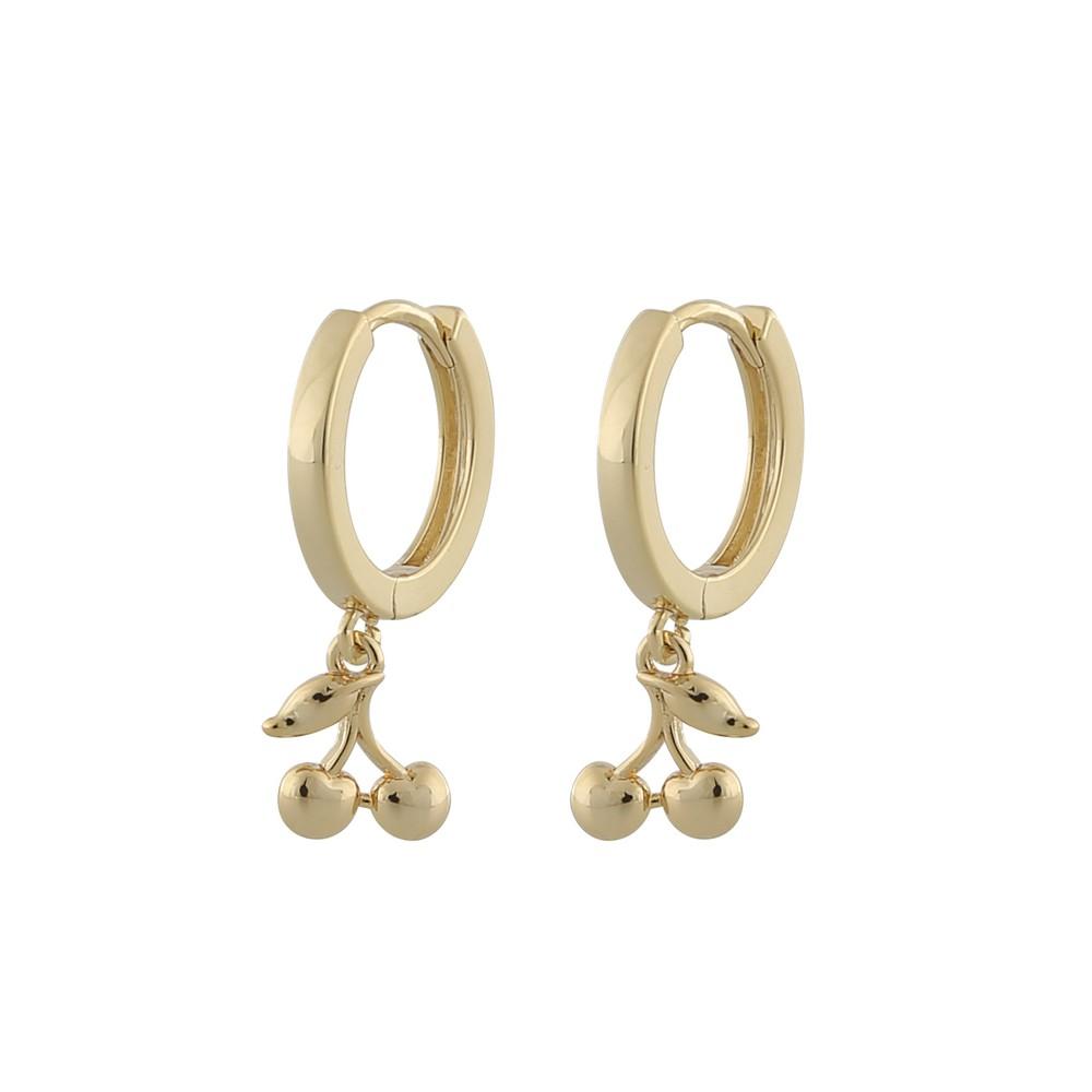 Fling Cherry Ring Earring