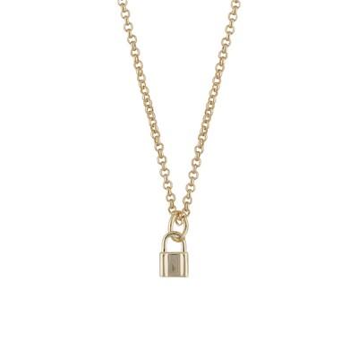Fling Lock Pendant Necklace