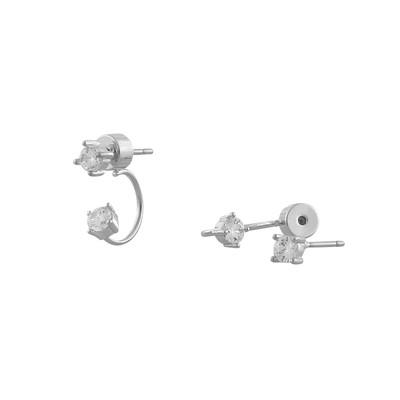 Midnight Double Earring