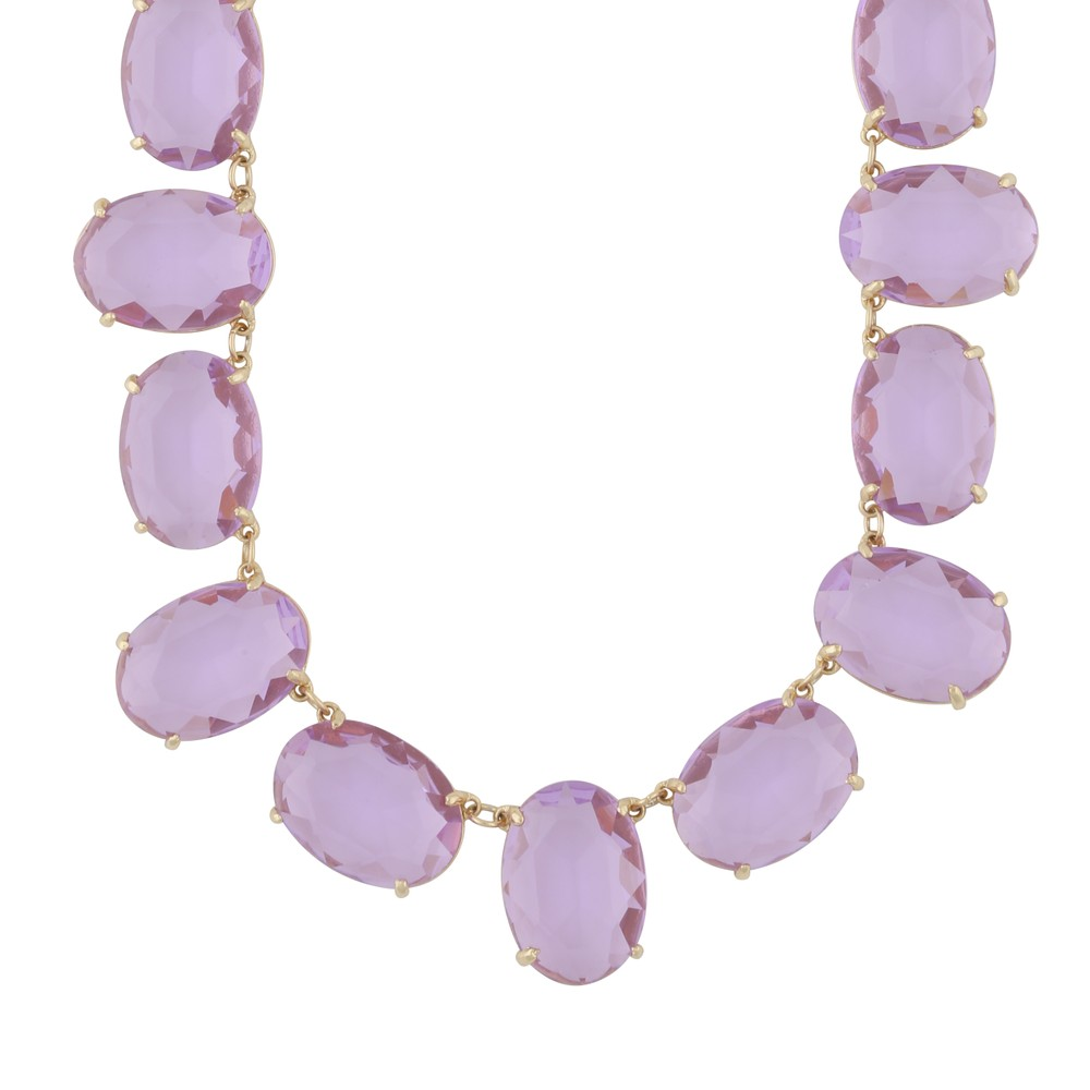 Dauphine Big Oval Necklace