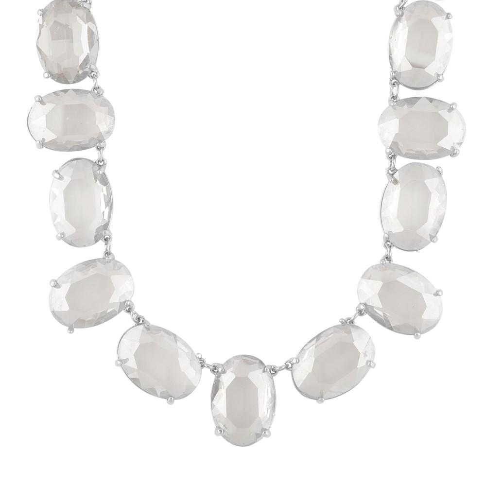 Dauphine Big Oval Necklace