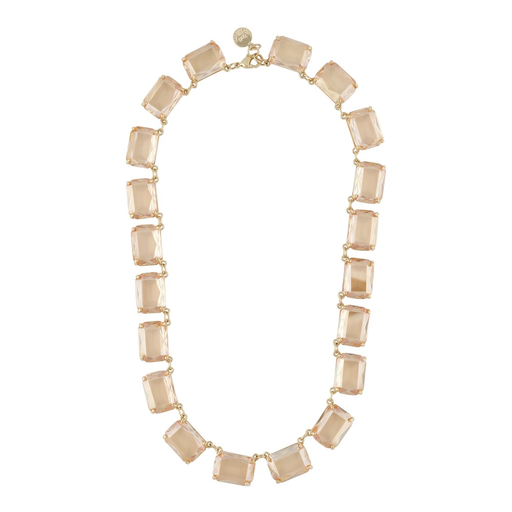 Dauphine Big Square Necklace