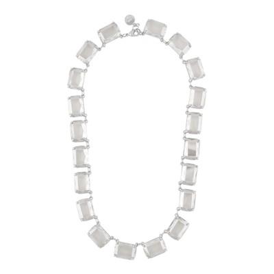 Dauphine Big Square Necklace