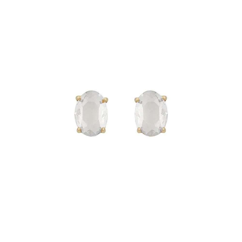 Dauphine Oval Small Earring