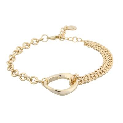Blanche Big Double Bracelet